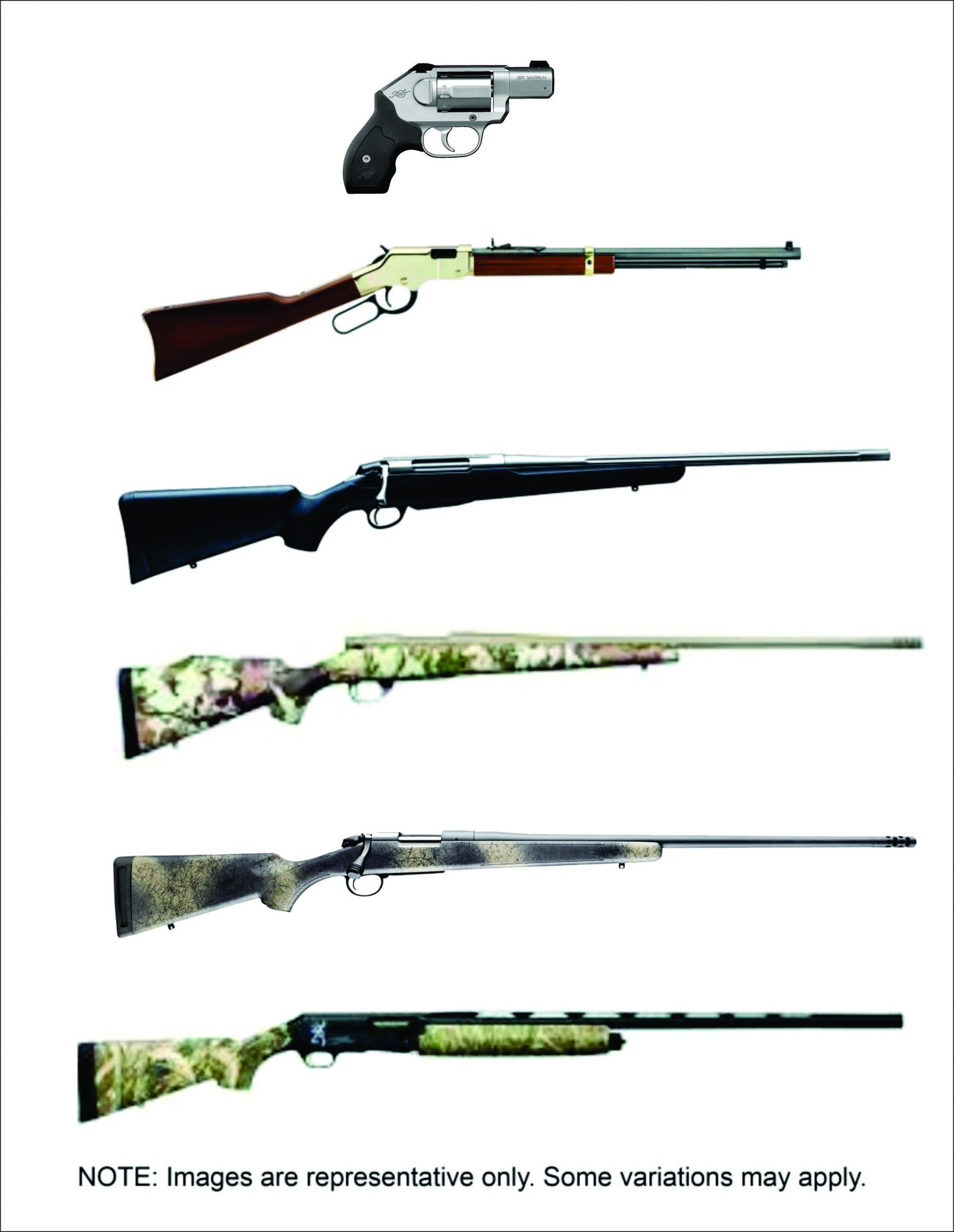 Stevinson's Winner-Take-All Six Gun Package